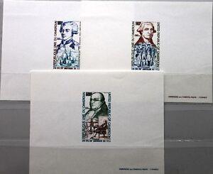 CAMEROUN-KAMERUN-1975-809-11-C227-9-DELUXE-USA-Ann-Washington-Lafayette-Franklin