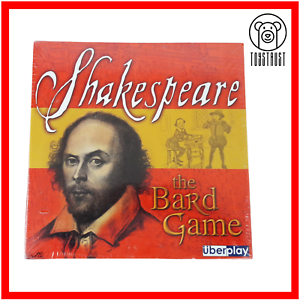 Shakespeare-Bard-Board-Game-Renaissance-Trivia-Family-Fun-Boxed-by-UberPlay