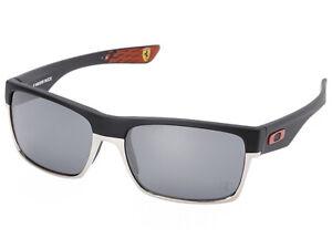 Oakley-TwoFace-Scuderia-Ferrari-Sunglasses-OO9189-20-Matte-Black-Black-Iridium