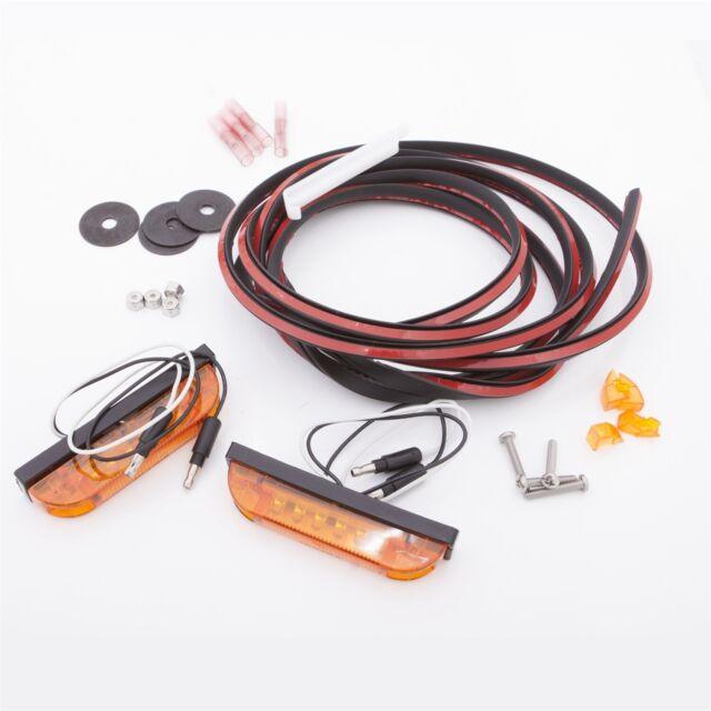 Bushwacker PK1-LT1-0001 LED Marker Light Kit Fits 07-18 Wrangler (JK)