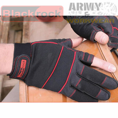 5400400 Blackrock Fingerless On Thumb /& Forefinger Carpenters Work Gloves