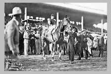 PHAR LAP & Team Agua Caliente Mexico 1932 2nd View modern Digital Photo Postcard
