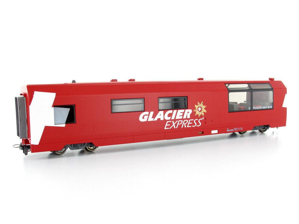 Bemo 3289132 Personenwagen WRp 3832 Glacier-Express Servicewagen RhB H0m