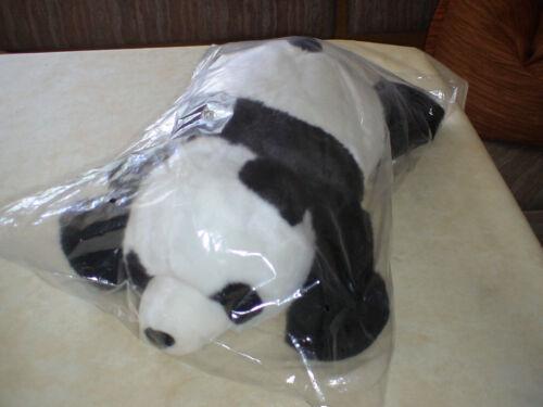 30° waschbar b Farbe:Schwarz/Weiß Pandabär groß mit sehr weichem Fell NEU