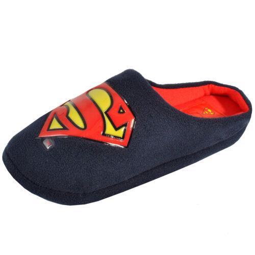 DC Comics pour homme original mule pantoufles nouveauté batman lacet noir tailles 7-12