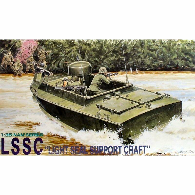 DRAGON 3301 LCSS Light Seal Support Craft 1 35 scale plastic model kit