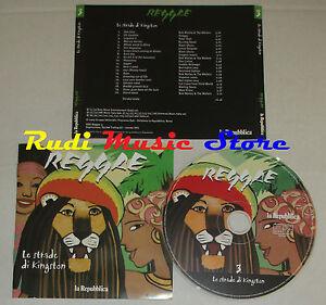 CD-REGGAE-Le-strade-di-kingston-3-2005-PROMO-repubblica-BOB-MARLEY-no-lp-mc-C12
