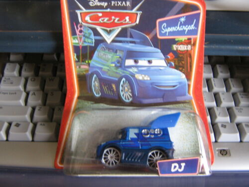 DISNEY PIXAR CARS DJ SUPERCHARGED