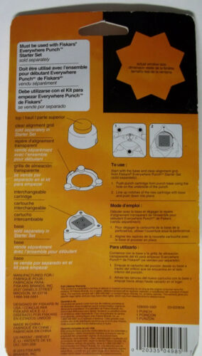 Fiskars Everywhere Punch  Sealed with a Star to be used with Starter Set NIP