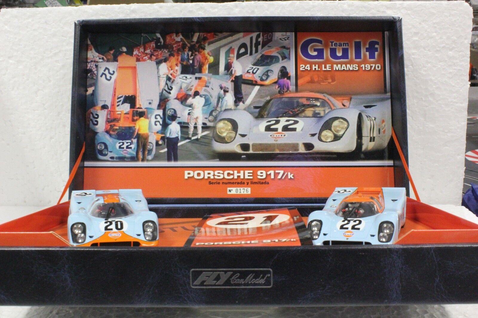 Fly Team Porsche 03 917k Limited Edition Set Nouveau 1 32 slot cars  Très Rare