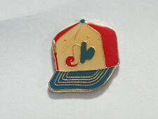Montreal Expos Baseball Cap Vintage Enamel Lapel Pin Badge (1a)