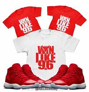 f5b1b7adcc65fd Win Like 96 T-Shirt Designed to match Air Jordan 11 Win Like 96 ...