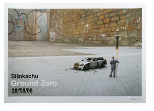 Slinkachu Print Ground Zero Show 2008 RARE