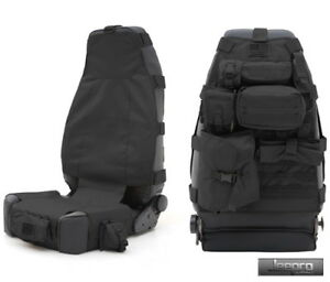 Image Is Loading SmittyBilt GEAR Seat Cover Front Black Jeep 76