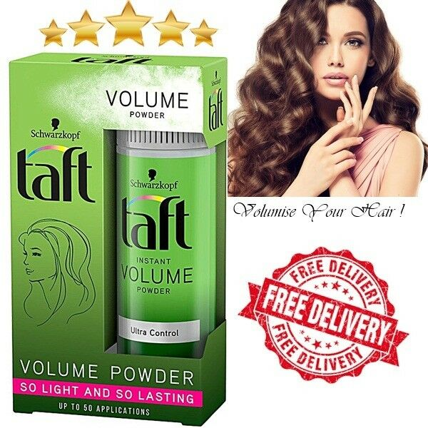 NEW in Box Schwarzkopf Taft Instant Hair Volume Powder Ultra Control 10g