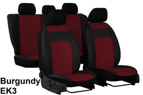 AUDI A3 8P SPORTBACK 2008 2009 2010 2011 2012 ECO LEATHER TAILORED SEAT COVERS