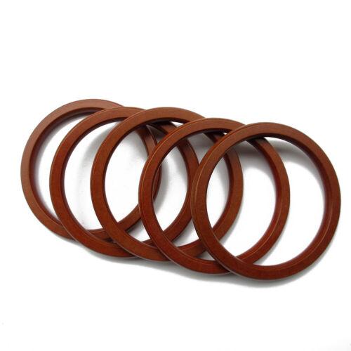 Bag Round Wood Purse Handle Replacement DIY Handbag Handle Ring Accessories