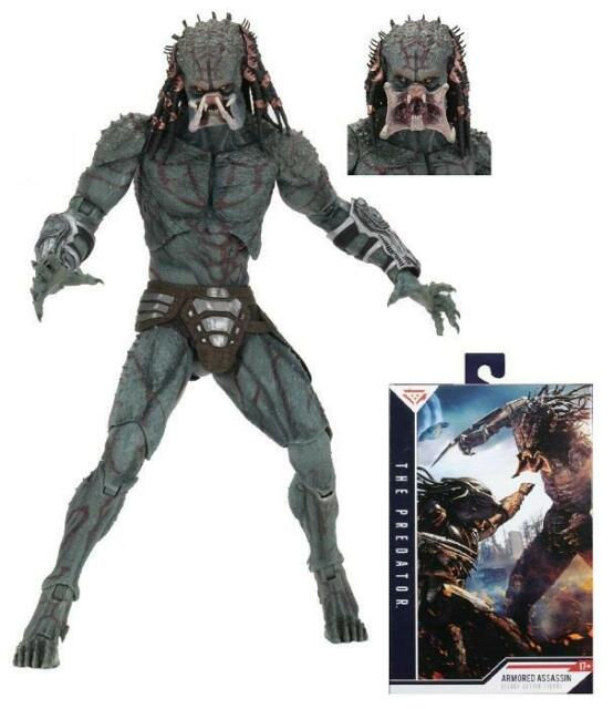 "The Predator Armored Assassin Predator Deluxe 7"" Scale Action Figure  21"