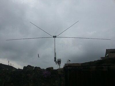 4 meters and 6 meters dual band dipole  70 and. 50 mhz