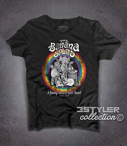 T-shirt-donna-THE-BANANA-SPLITS-SHOW-Tra-La-La-Song-Swingo-Bingo-Drooper-rainbow