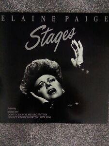 Elaine-Paige-Stages-K-Tel-NE-1262-Vinyl-LP-Album