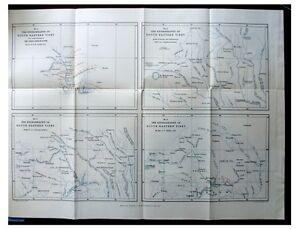 1888-Walker-RIVERS-OF-TIBET-Untracked-Lu-River-COLOR-MAP-9