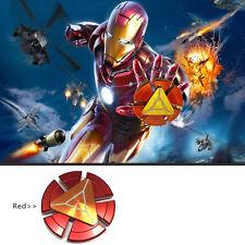 Cool Iron Man Fidget Hand Spinner Finger Titanium Alloy Brass Bearing EDC Autism