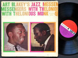 ART-BLAKEY-Jazz-Messengers-THELONIOUS-MONK-ATLANTIC-1278-MONO-Johnny-Griffin