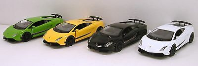 Set of 4 RMZ Lamborghini Gallardo LP 570-4 Superleggera 1:36 diecast model R13