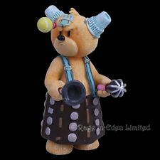 *DALE* Bad Taste Bears Hand Painted Resin Numbered Figurine (11.5cm)