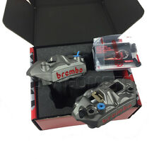 BREMBO 108 mm M4 Radial Cast Forged Calipers Kit 220A39710 with Brake Pads