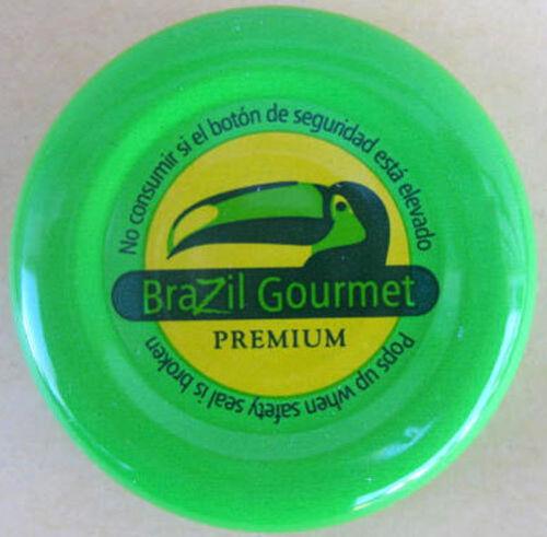 MANGO PREMIUM NECTAR Fruit Drink used Bottle Cap with TOUCAN Bird BRAZIL GOURMET