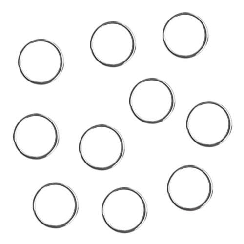 10 Stück Sporttauchen Edelstahl Split Ring für Zahnrad Befestigung 22mm