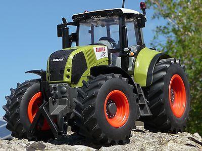 "RC Traktor CLAAS Axion 870 in XL Größe 35cm /""Ferngesteuert 2,4GHz/""        403703"