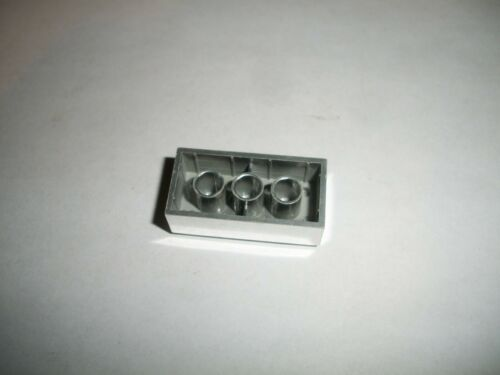 LEGO 2x4 Chrome Silver Brick part 3001 from 25th Anniversary Tub Very Rare