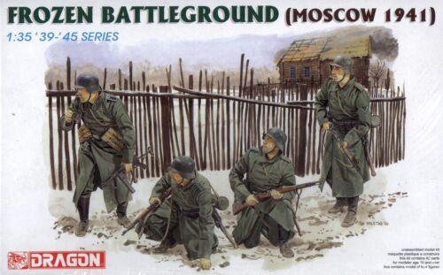 Dragon 1//35 6190 WWII German Frozen Battleground 4 Figures Moscow 1941