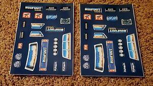 4 Playskool vintage BIGFOOT toy SST truck repro decals sticker sheet 1983school