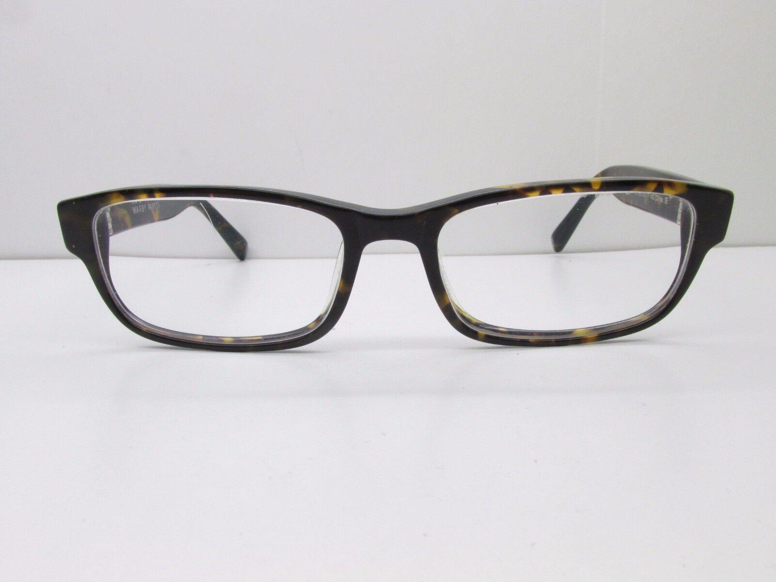 b7ec6985081 Warby Parker Fitz 200 Eyeglasses Frames 52-17-140 Whiskey Tortoise ...
