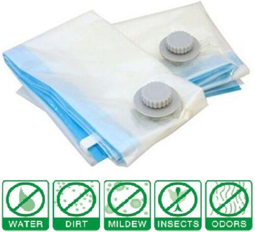 12 Pack x8 Large Vacuum Seal Space Saver Storage Compress Bags x4 Travel Bag