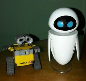 wall e robot wall e eve pvc action figure collection model toys