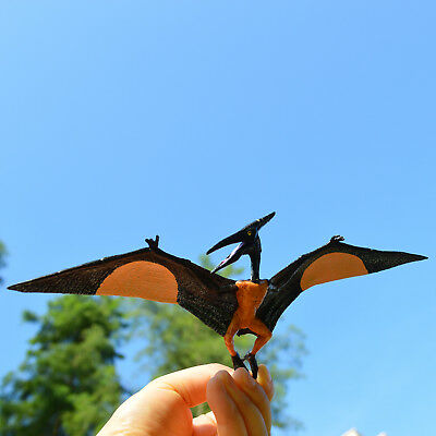 2 x Pterosaurs Flying Dinosaurs Toy Educational Model Pterodactyls Gift for Kids