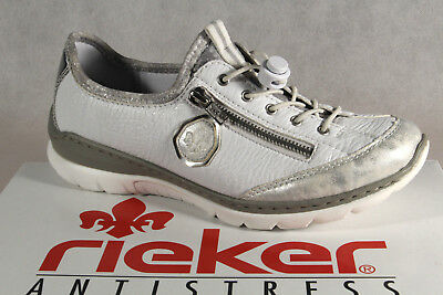 Rieker Slippers Sneakers Low Shoes Trainers Ballerina White L3263 New | eBay