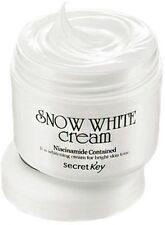 Secretkey Snow White Cream_50Gram, Korean Origin Skin Whitening Lightening New