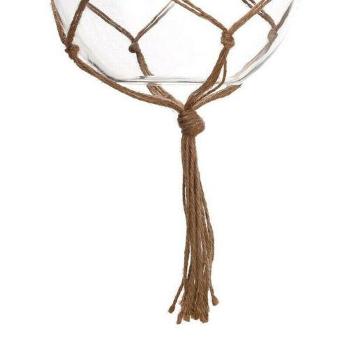 4pcs Plant Hanger Macrame Hanging Planter Basket Rope Flower Pot Holder Deco