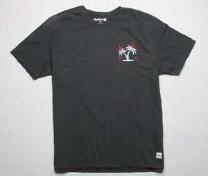 Image is loading Hurley-Heavyweight-Tee-L-Black be5964d32bf