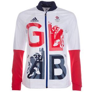 Official Olympics London 2012 Team GB Track Top Ladies Grey Hoodie