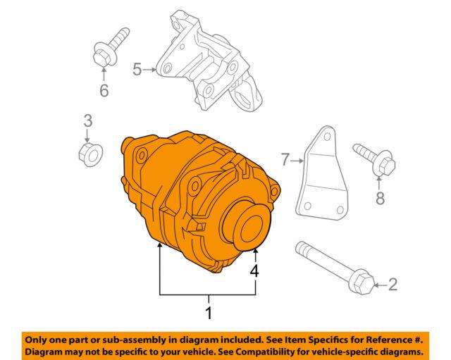 231001LA1A Genuine Nissan Alternator Y 23100-1la1a on