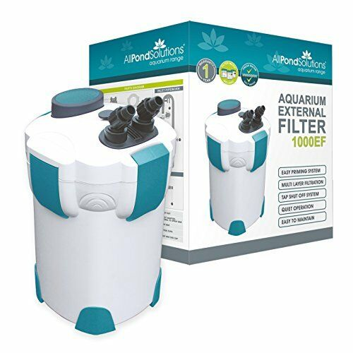 All Pond Solutions 1000EF Acquario Filtro Esterno, 1000 litriora