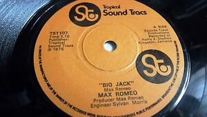 MAX-ROMEO-BIG-JACK-2-TROPICAL-SOUND-TRACS-3-TRACK-SINGLE-1975