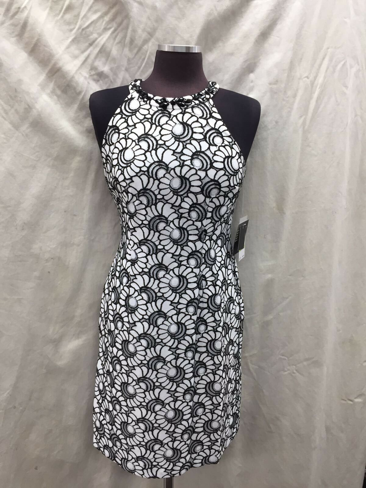 NINE WEST West   DRESS RETAIL NEW WITH TAG LINED Größe 14 LENGTH 40